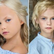 Как изглежда майката на две от най-красивите деца на планетата-Снимки