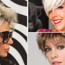 Обемни прически за къса коса 2021