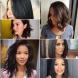 20 прически за средна коса за брюнетки-Модерни идеи