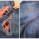 Как да поправим любимите си дънки без да си личи, когато се прокъсат отдолу и искаме още да си ги носим