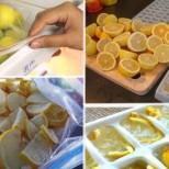 Замразените лимони са отлична превенция срещу диабет, затлъстяване и тумори