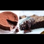 Торта Черната перла - 100% шоколадова, без грам брашно и нишесте!