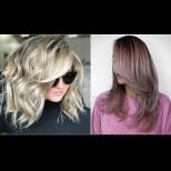 Модерни прически с бретон за дълга коса - най-актуалните тенденции с красив завършек (Снимки):
