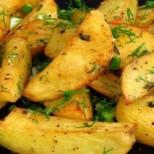 Гръцки картофки- толкова са вкусни, че забравяш за месото
