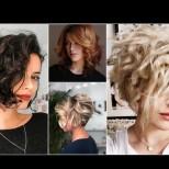 Прически за чуплива и къдрава коса 2021 (Снимки):