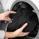 1 чаша в барабана и черното пране запазва цвета си с години