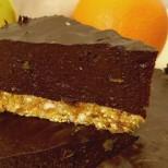 Диетична торта без брашно, яйца, масло и захар и БЕЗ печене, 136 калории