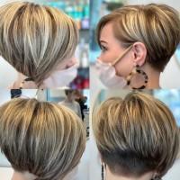 16 боб прически за къса коса през пролетта (снимки)