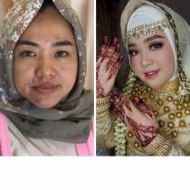 10 булки от Азия преди и след грима им ги превърнаха в истински кралици