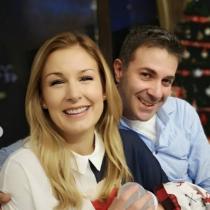 Ето го порасналото бебче на Венелин Петков и Николета Маданска - вижте 1-месечния Йоан (Снимки):