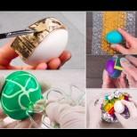 Не бъди ретро! 12 модерни техники за боядисване на яйца, които и баба ти ще хареса (Снимки):