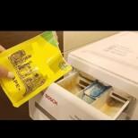 5-минутно почистване на пералнята - 4 пакетчета и става стерилна без химикали: