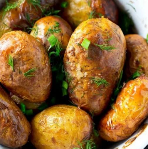 Пресни картофи с копър и чесън-Класика по нов начин-Вече пуснаха на пазара първите