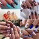 Топ арт нежни маникюри за къси и средни нокти