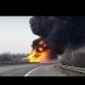 Тежка катастрофа затвори магистрала Тракия в двете посоки (Снимки):