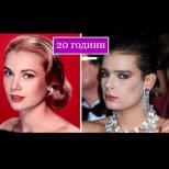 Машина на времето: 17 холивудски знаменитости и техните деца на една и съща възраст (Снимки):