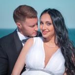 Кристина Дончева от Гласът на България се омъжи с наедряло от бременността коремче-снимки
