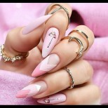 17 феерични дизайна за бадемовите нокти - ослепителни идеи за нежни дамски ръчички (Снимки):