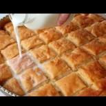 Турски млечен бюрек - вкус, та дрънка! Чаша мляко и обикновената баница става райска наслада: