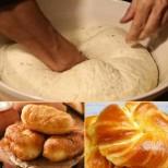 Ето рецептата за прочутото Турско газирано тесто - от него стават чудо-мекици и питки: