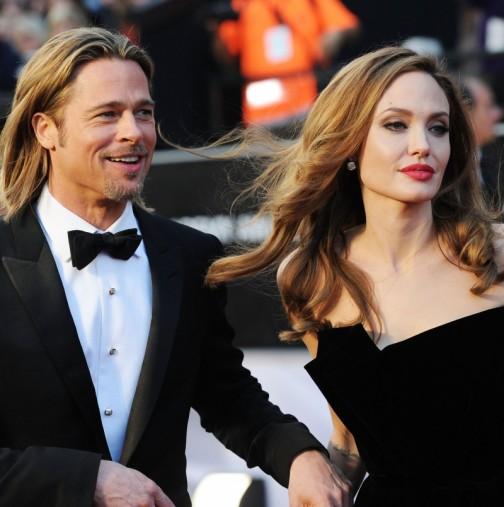 Дъщерята на Брад Пит и Анджелина Джоли вече се казва Джон и изглежда наистина като момче-Снимки