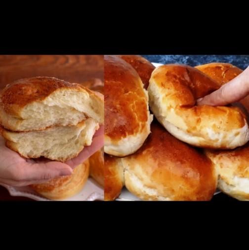 Универсално тесто като пух - друга рецепта не ти трябва! И за питки, и за понички, и за хляб - топят се в устата: