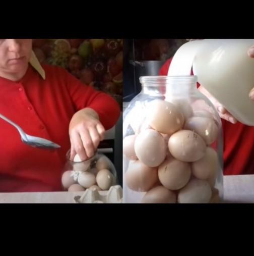 Баба на село така си съхранява яйцата - издържат месеци без хладилник!