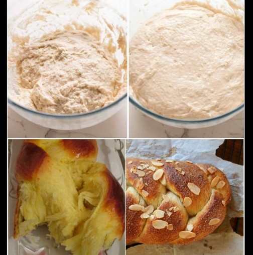 Рецептата за Бъркан козунак, с която младите булки се отсрамиха пред свекървите - целият на конци, без да пипаш тестото с ръка: