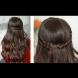 Как да си направим романтична прическа със сплетена коса за свети Валентин (Видео)
