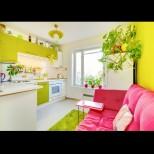 17 ярки и цветни кухни, в които да ти е кеф да сготвиш нещо! (Снимки):