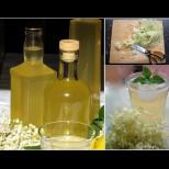 От една доза излизат 10 бутилки домашен сироп от бъз. Лете пиеш за разхлада, зиме - за здраве! Без варене: