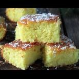 Бисерът на Ориента - чудно вкусна Арабска торта с кисело мляко и грис. Отхапваш и забравяш за всичко: