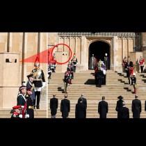 Невиждана мистерия на погребението на принц Филип! Кой е тайният наблюдател? (Снимки):