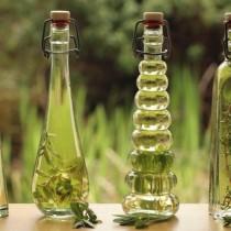 Домашен серум от масла от мащерка, вечерна иглика, градински чай за хормонален баланс-естроген и прогестерон