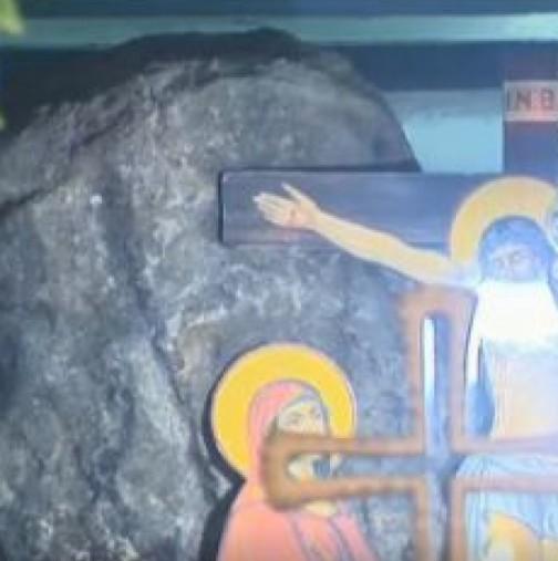 Чудотворен камък в Горни Богров