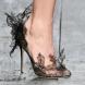 Ефектни дантелени обувки (Снимки):