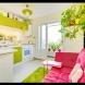 17 ярки и цветни идеи за кухнята (Снимки):