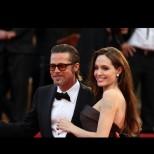 Анджелина Джоли прекара нощта при бившия си съпруг с бутилка вино и без децата (Снимки):
