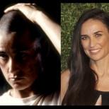 Невероятни актьорски трансформации (Снимки):