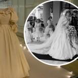 Извадиха сватбената рокля на принцеса Даяна за първи път от 26 години насам! Ето как изглежда днес (Снимки):