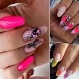 Летни маникюри дълги нокти (Снимки)
