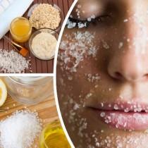 И най-обикновената сол върши чудеса за възстановяване на свеж вид на лицето ви, стига да знаете как да я ползвате
