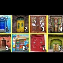 Избери врата и бъдещето ще ти се открие!