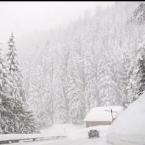 Снежна покривка се образува на няколко места в България, температури -4 градуса-Снимки и видео