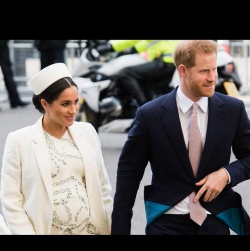 Експерти: Дъщерята на Меган Маркъл и принц Хари ще промени историята (Снимки):