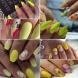 22 много модерни жълти маникюри
