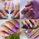 24 лилави маникюри - Последен писък на модата