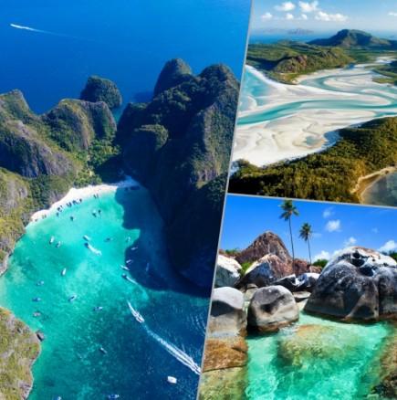 ТОП 10 на най-красивите плажове в света - така изглежда Раят! (Снимки):