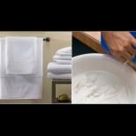 Ето как избелват кърпите в скъпите хотели, за да скърцат от чистота и белота: