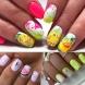 25 СЛАДУРСКИ цветни дизайна за къси нокти - пъстър калейдоскоп от идеи (Снимки):